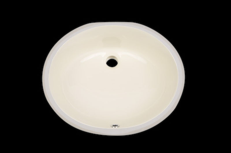 Click To Enlarge Image P19sucqmbt1vb4193k1rfrls5108d4 Oval Bisque Sink  US 1916 B (19x16x8) Oval Bisque Sink US 1916 B (19x16x8) ...